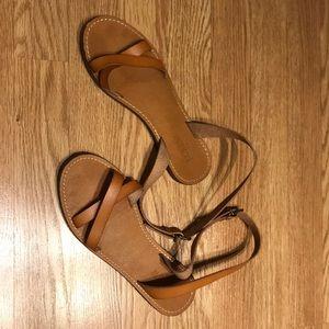 Used J.crew Factory Flat Sandals
